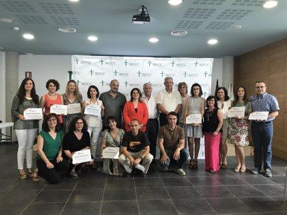 Un total de 16 centros y 2.000 alumnos participan en cursos de hábitos saludables y gestión emocional contra el cáncer