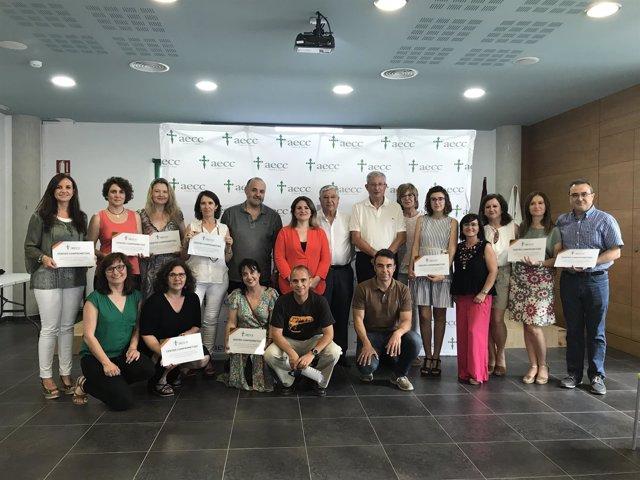 La AECC Murcia reconoce a los Centros Educativos Comprometidos Contra el Cáncer