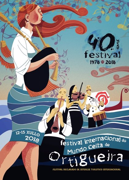 El Festival de Ortigueira celebra 40 años de historia con Milladoiro, Ímar, Yves Lambert Project o Lúnasa