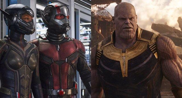 Ant-Man y la Avispa/ Thanos