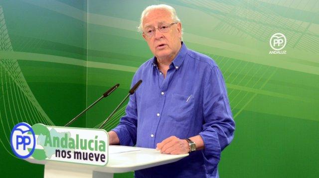 El portavoz de Economía del Grupo Popular andaluz, Jaime Raynaud
