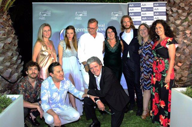 Inauguración del Festival Internacional de Cine de Islantilla