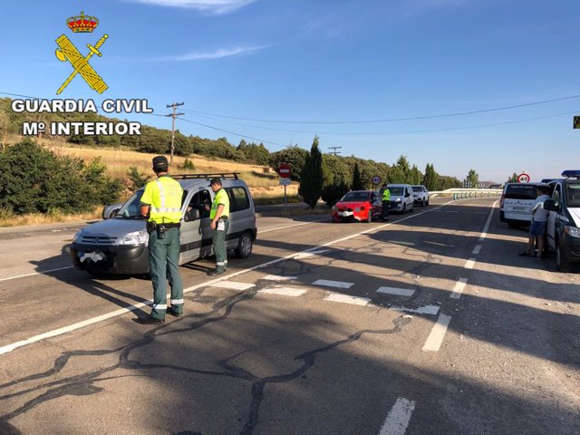 Dispositivo de seguridad en Teruel.
