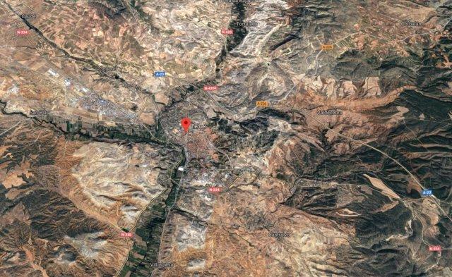 Localización de Teruel