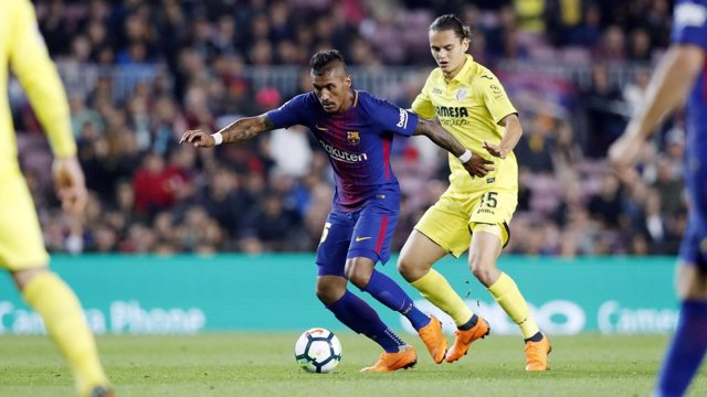 El jugador del FC Barcelona Paulinho