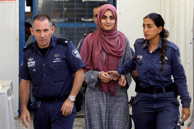 Ebru Ozkan, de nacionalidad turca, detenida en un aeropuerto israleí