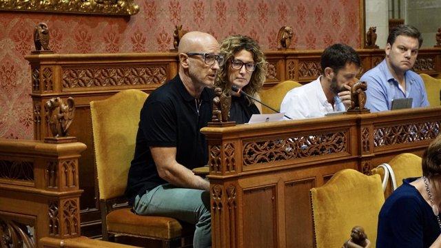 El portavoz del PI en el Consell de Mallorca, Antoni Pastor