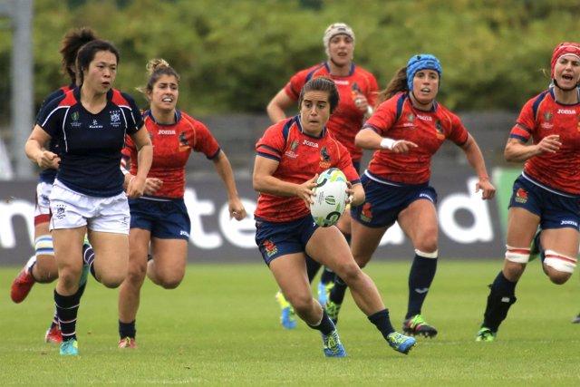 Las Leonas en el Mundial de Rugby de 2017