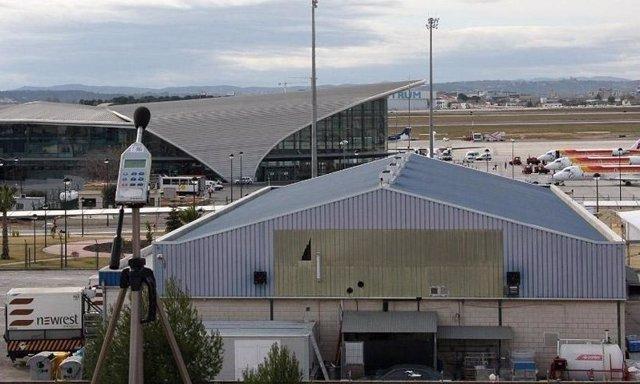 Aeropuerto de Manises en imagen de archivo