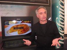 Ferran Adrià tornarà a cuinar aquest dijous a Barcelona (EUROPA PRESS - Archivo)