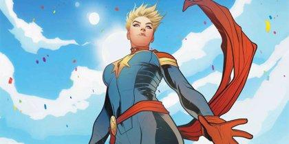 Brie Larson anuncia el final del rodaje de Capitana Marvel