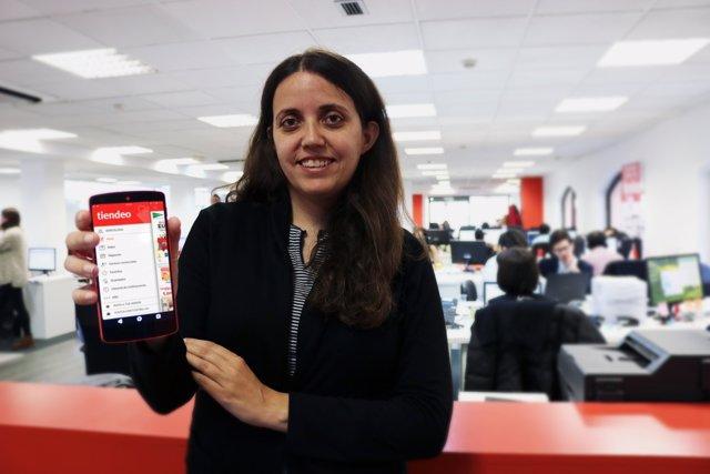 La consejera delegada de Tiendeo, Eva Martín