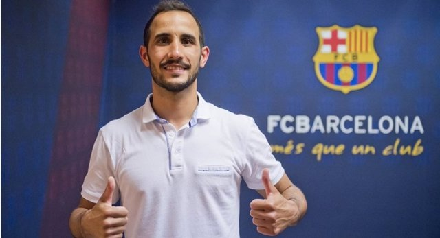 El nuevo jugador del FCB Lassa de fútbol sala 'Boyis'