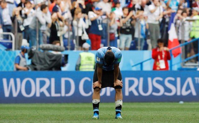 Soccer Football - World Cup - Quarter Final - Uruguay vs France - Nizhny Novgoro