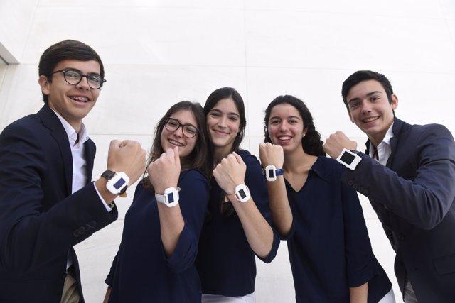 La tecnologías de las pulseras EduCaixa