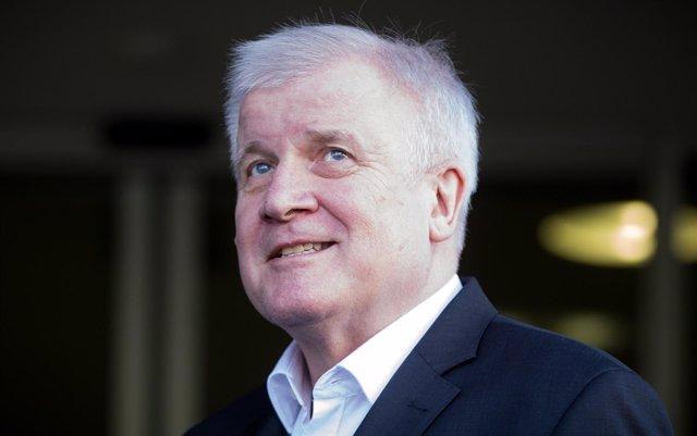 Horst Seehofer, ministro del Interior de Alemania y líder de CSU