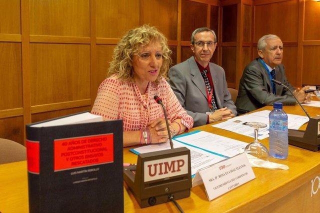 Eva Díaz Tezanos en la UIMP