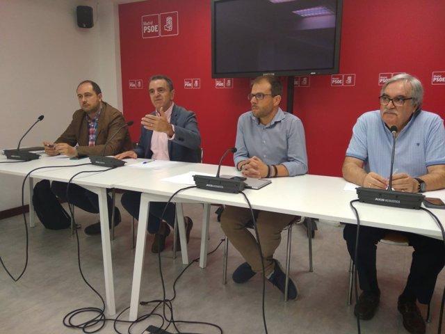El secretario general del PSOE-M, José Manuel Franco