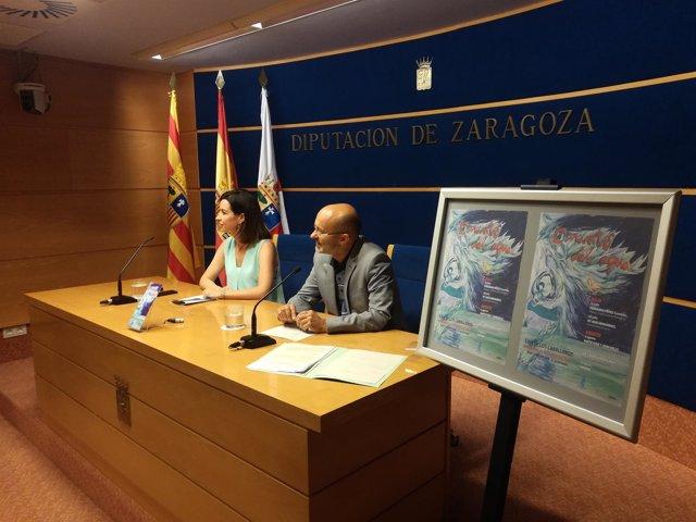 Presentación VIII edición 'Conciertos del Agua' de Ejea
