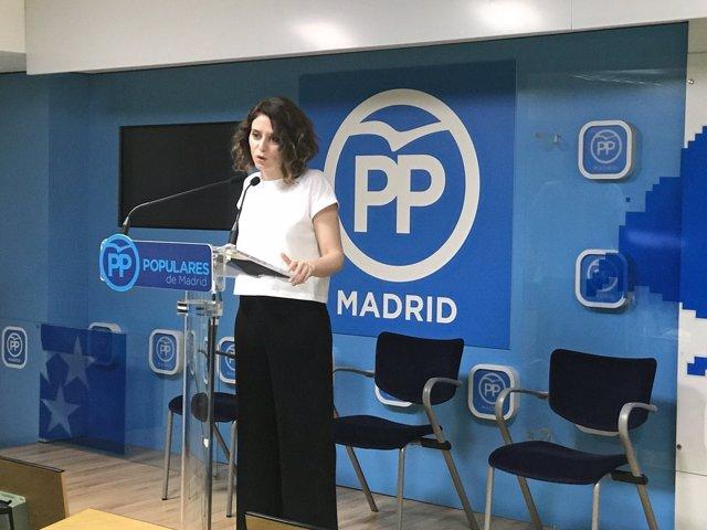 Isabel Díaz Ayuso, PP