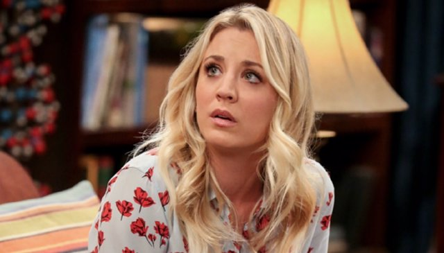 Kaley Cuoco en The Big Bang Theory