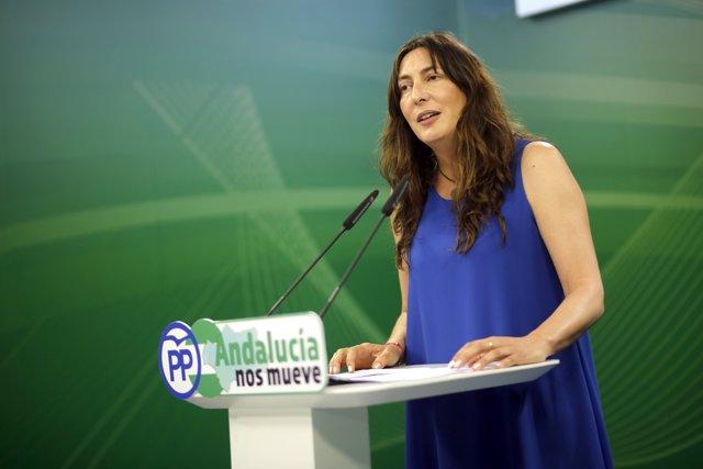 Loles López, secretaria general del PP-A.