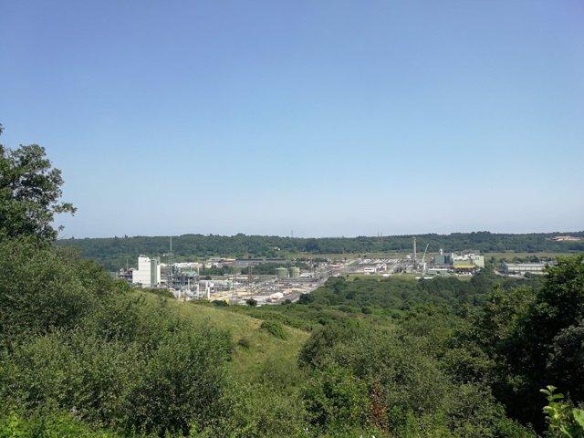 Vista del complejo Dupont.