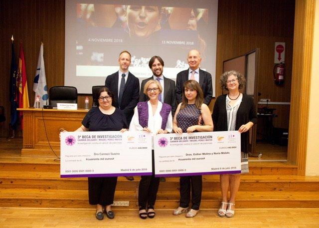 Entrega de becas de 40.000 euros para la investigación del cáncer de páncreas