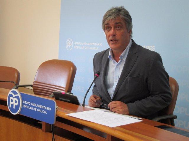 Pedro Puy, en el Parlamento