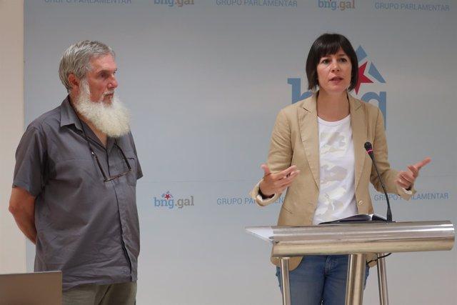 Ana Pontón y Xosé Luis Rivas 'Mini' (BNG)