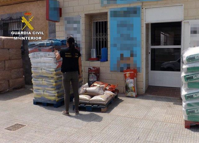 Guardia Civil desmantela un activo punto de venta de cocaína en Cartagena