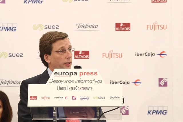 José Luis Martínez-Almeida participa en los Desayunos de Europa Press