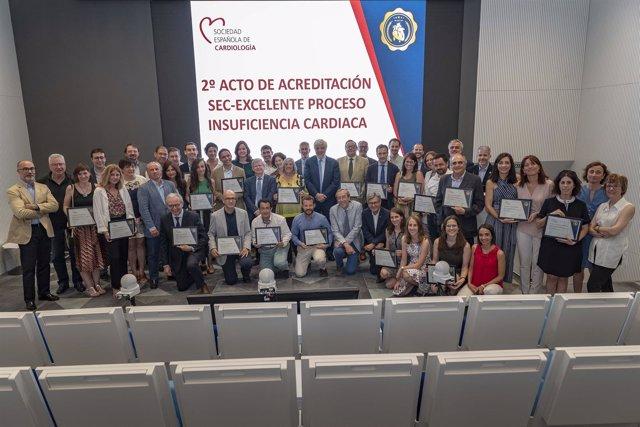 La Sociedad Española del Corazón reconcoe en insuficiencia a 24 hospitales