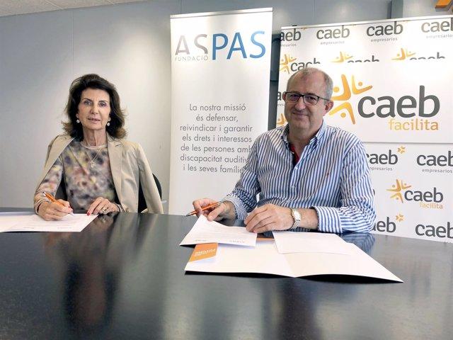 CAEB y Aspas