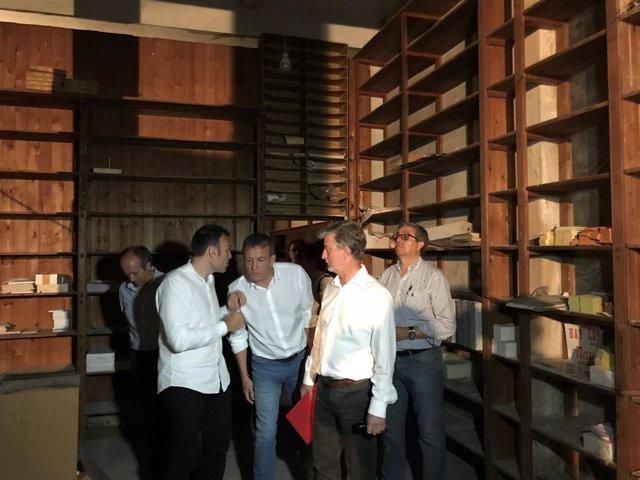Santisteve, Rivarés y Muñoz en la Imprenta Blasco