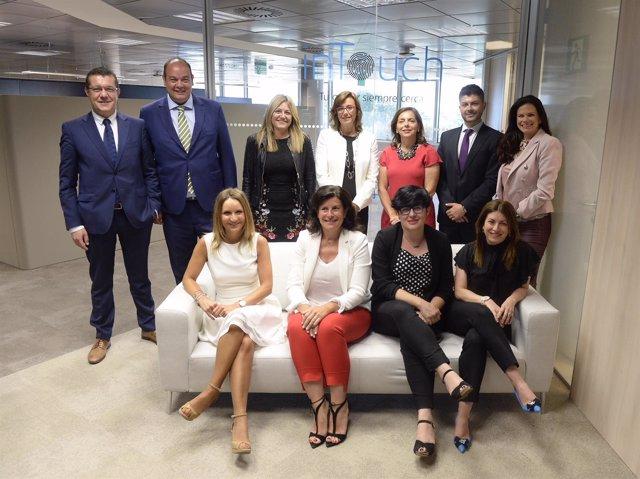Nuevo centro 'inTouch' de CaixaBank en Zaragoza