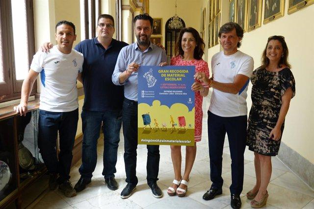 Entreno solidario zapas solidarias corredores septiembre