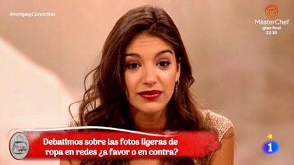 La polémica entrevista a Ana Guerra sobre si sube sus fotos por provocar o no...
