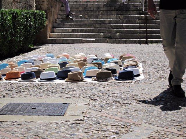 Venta ambulante en Palma