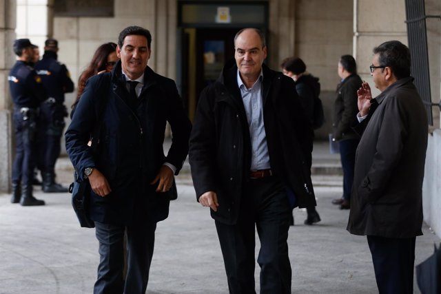 El exdirector general de Trabajo Juan Márquez llega al juicio de los ERE