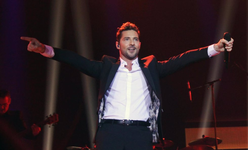 DAVID BISBAL EN EL WIZINK CENTER/ EUROPA PRESS