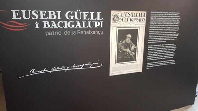 Exposición sobre Eusebi Güell