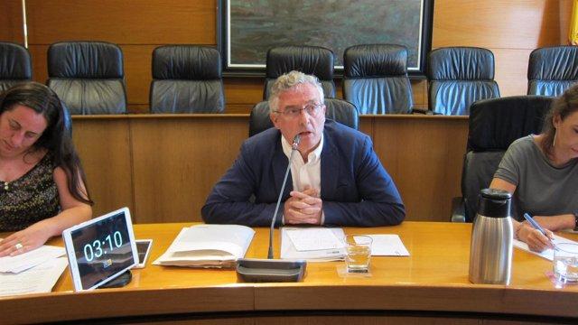 El consejero Joaquín Olona