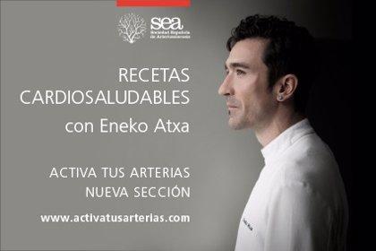 Recetas cardiosaludables del cocinero Eneko Atxta, con 4 estrellas Michelin