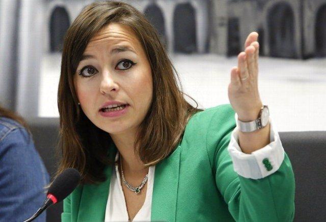La concejal de Ciudadanos en León Gemma Villarroel. 9-7-2018