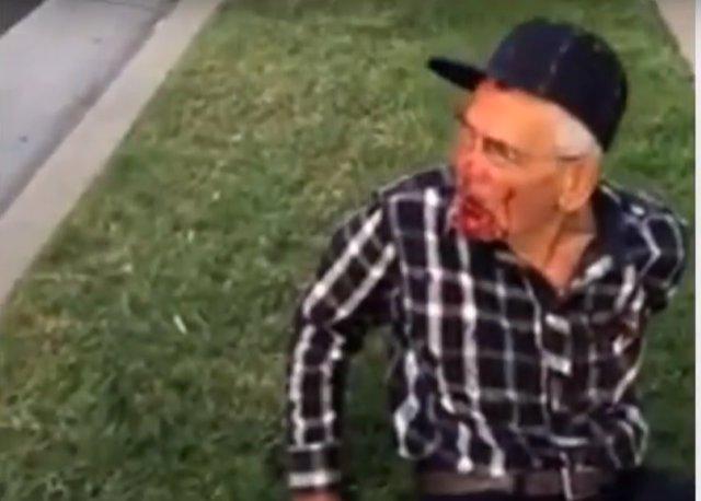 Mexicano agredido en Los Ángeles