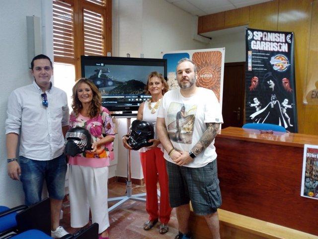 Presentación 'Jaén Solidaria 501st Legión'