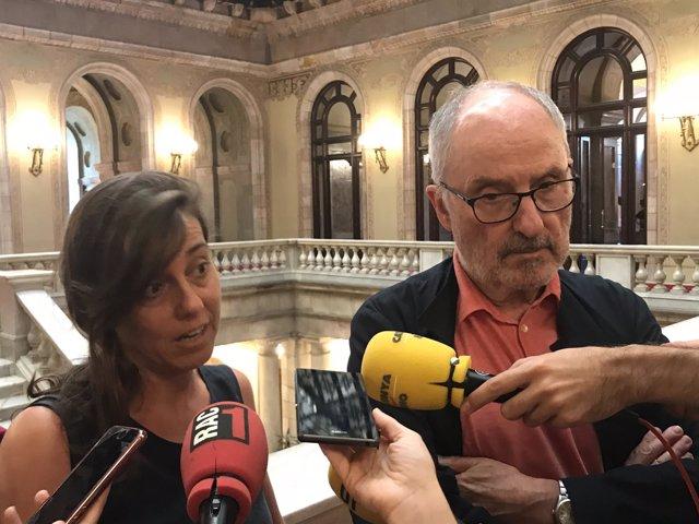 M.J.Larios y el Síndic R.Ribó
