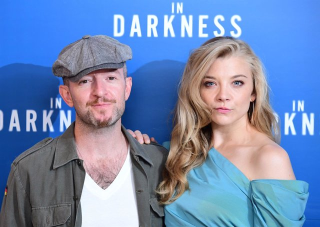 Anthony Byrne and Natalie Dormer attending a screening of In Darkness at Picture