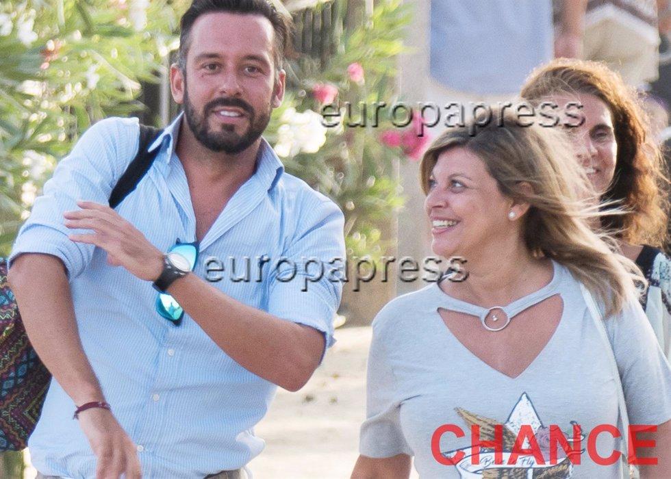 Foto: Fredy Torra/  Terelu Campos y Kike Calleja juntos felices en Málaga